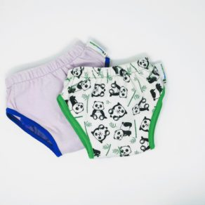 Lot de deux culottes d'apprentissage Best Bottom Diaper